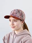 Бейсболка STETSON арт. 7781901 BASEBALL CAP PALM LEAF (оранжевый / розовый)